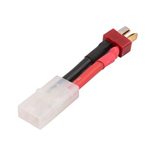 sourcingmap® Männlich zu T-Verbinder Buchse Adapter Kabel für ESC Li-po Akku