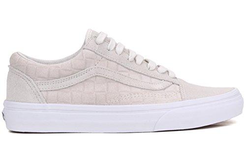 Vans Unisex-Erwachsene Old Skool Reissue Sneakers (suede checkers) white GM9gNBB