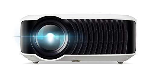 Aopen QH10 Projektor mit Auflösung 720p (1280x720), Kontrast 1.000:1, Helligkeit 200 ANSI, USB, HDMI, SD Card, Lebensdauer, 20.000 h, integrierte Lautsprecher, weiß