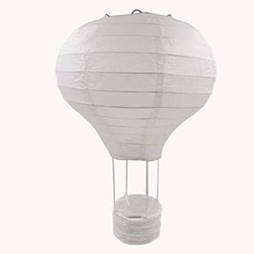 12 inch/ 16 inch Rainbow Wedding Chinese Paper Lantern Birthday Party Air Balloon Shape Lantern Photography Props (Paper Chinese Lantern)