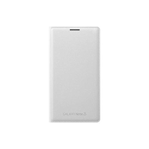 Samsung EF-WN900BWEGWW Flip Wallet per Galaxy Note 3, Bianco