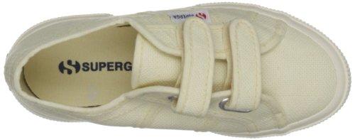 Superga Unisex-Kinder 2750 Jvel Classic Sneaker Ecru
