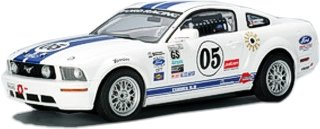 AutoArt Ford Racing Mustang FR500C Grand-Am Cup GS 2005 #5 Slotcar Maßstab 1:24