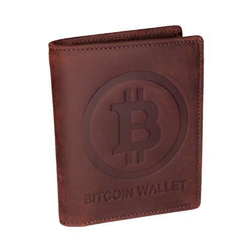"""¡Ahora puede mostrar su orgullo de bitcoin o criptomoneda con esta billetera de cuero genuino!    En el interior de la billetera está """"JUST HODL IT"""", este juego de palabras hace que todos los criptofanes sonríen.        Características especiales..."""
