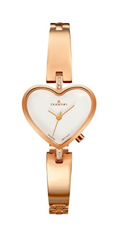 Dugena Dugena, diseño de corazones color oro rosado., 4460841