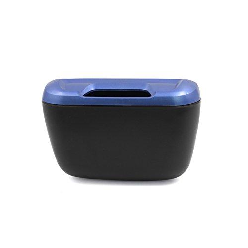 sourcingmap® Schwarz Blau ABS Plastik SUV Auto Cargo Gefäß Dose Speicher Box (Cargo Rucksack-zubehör)