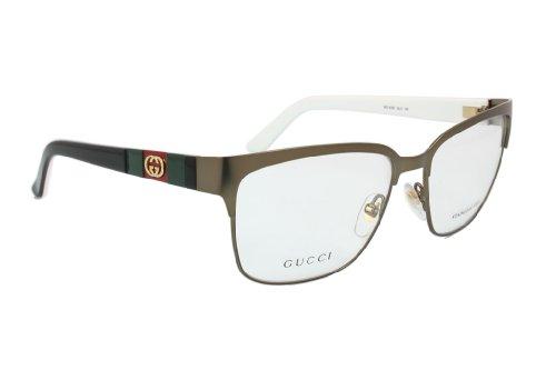 Gucci Gestell Gg 4210 (56 mm) bronze/schwarz/weiß
