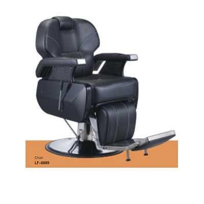 Sedia poltrona mod. 6889 per parrucchiere barbiere professionale reclinabile alzabile salone parrucchiere