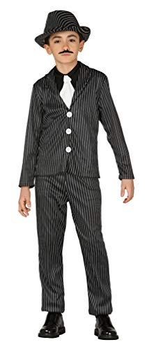 Mädchen Kostüm Flapper Und Gangster - Kinder Jungen Mädchen 1920s Jahre Gangster Flapper Bugsy Malone Kostüm Kleid Outfit 3-9 Jahre - Jungen, 5-6 Years