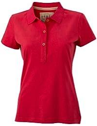 James & Nicholson Damen Poloshirt Ladies' Vintage