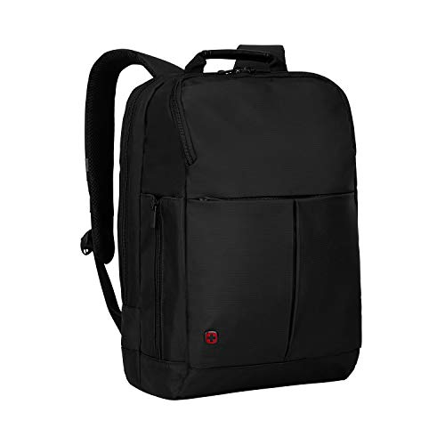 "Wenger 601068 RELOAD 14"" Laptop Backpack , Padded laptop compartment with iPad/Tablet / eReader Pocket in Black {11 Litres}"