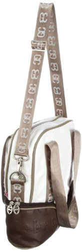 Poodlebags GERMAN COUTURE - classical cruise - Bremerhaven - 3GC0312BREMW, Borsa a spalla donna, 30 x 9 x 31 cm (L x A x P) Bianco (Weiss (white))