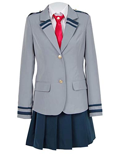 qingning My Hero Cosplay Schule Uniform Boku no Hero Halloween Kostüm Outfit