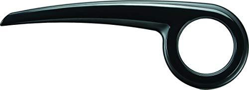 DEKAFORM Fahrrad Kettenschutz Performance Line 180-2 für Conway Diamant Hercules Shimano Nexus + SRAM* bei 180mm Halterung - schwarz + 4 Schrauben
