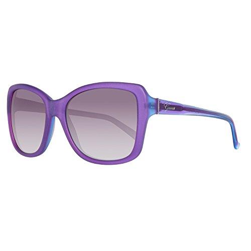 Guess Damen GU7360-57O46 Sonnenbrille, Violett (Morado), 57