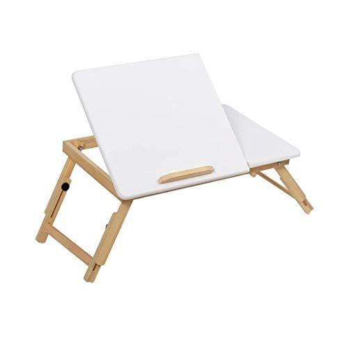 Massivholzbett Mit Laptop Klapptisch Schlafsaal Mit Lesen Studie Tisch Hause Einfache Student Kleine Schreibtisch Bett Frühstück Tablett (größe: 78x35x30 cm) -