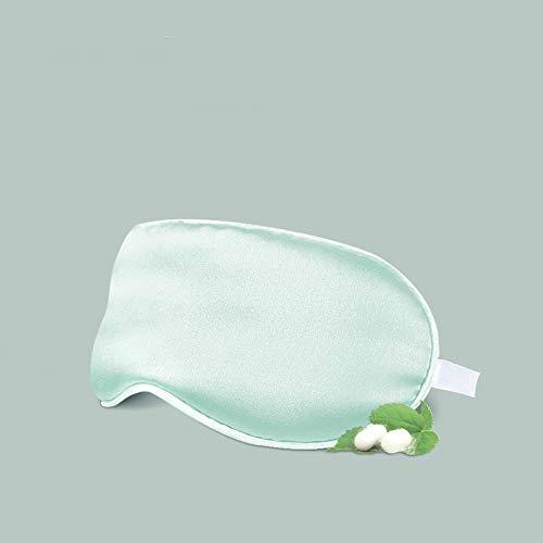 Preisvergleich Produktbild ASDFNF (Zwei Paare Professionelle Baby-Augenmaske,  atmungsaktiv,  Sonnenschutz,  Neugeborenes,  Schlafseide,  Augenschutz (Color : Green)