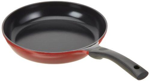 culinario Keramikpfanne Ø 28 cm, rot, antihaft und induktionsgeeignet