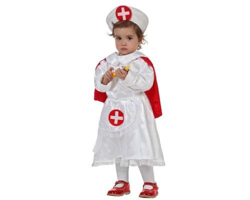 Imagen de atosa  disfraz de enfermera para bebé niña, talla 1  2 años 8422259520627