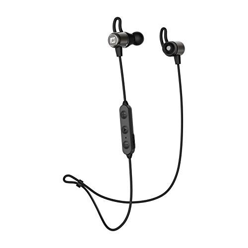 MEE audio EB 1 Bluetooth® Kopfhörer In Ear Headset, Lautstärkeregelung Schwarz