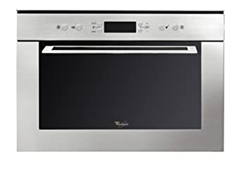 Whirlpool AMW 735 IX Four à Micro Ondes Multifonction Intégrable 38,5 cm 31 L 1000 W Inox