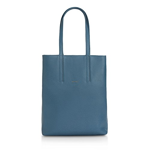 Matt & Nat Matt & Nat Orford Dwell Tote Bag Versandkostenfrei, Borsa a spalla donna taglia unica azzurro