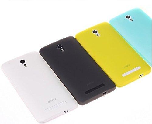 Prevoa ® 丨Silikon TPU Case Schutzhülle Tasche für JIAYU S3 / S3 Advanced 5.5 Zoll Smartphone - (Gelb)