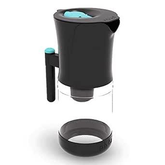 Phox - Filtro per acqua V2, cartuccia Worlds First riutilizzabile e brocca in vetro da 2,2 l