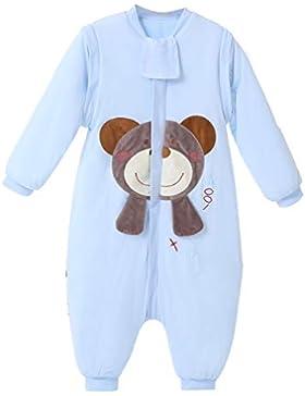 baby schlafsack winter Strampler mädchen junge Jumpsuit-overall mit Beine schlafanzug baumwolle 2.5 tog,bar.