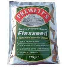 Prewetts Org Ground Flaxseed 175g - CLF-PRW-1000 by Prewetts