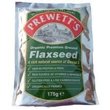Prewetts Org Ground Flaxseed 175g - CLF-PRW-1000 by Prewetts