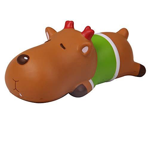 (Weihnachten Spielzeuge,Covermason Squishy Toys Spielzeug Jumbo Cute Stress Kombination Toys angsames Aufstehen Duftend Stress abbauen Spielzeug (Grün))