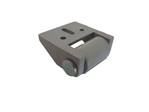 31CyLrmXqqL - (Lot de 8) de 16mm en caoutchouc de roue Plastique Roulettes pivotantes plaque de métal avec meubles Appliance et équipements Petite Mini Ensemble de roues de roulettes