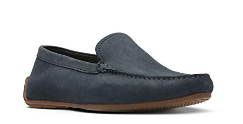 Clarks Reazor Edge, Mocassins (Loafers) Homme, Bleu...