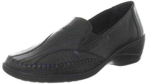 Comfortabel 941086, Mocassini donna Nero (Schwarz (schwarz 1))