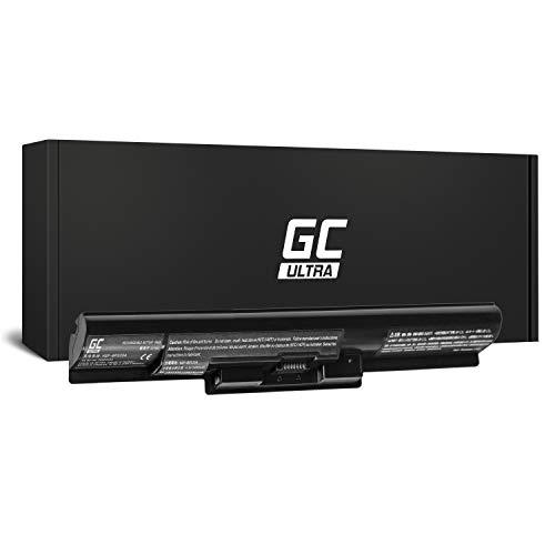 Green Cell Ultra Serie VGP-BPS35A Laptop Akku für Sony Vaio SVF14 SVF15 Fit 14E 15E SVF1521C6EW SVF1521F2EW SVF1521G6EW SVF1521K1EW (Original Panasonic Zellen, 3400mAh, Schwarz)