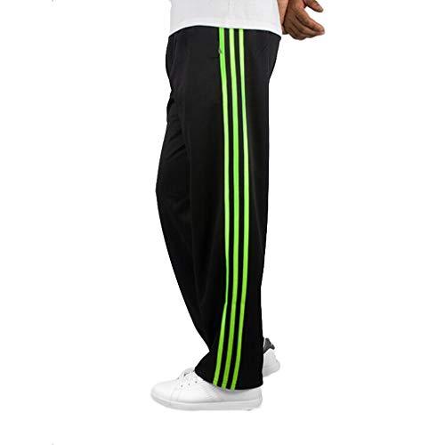 Hibote Tallas Grandes Pantalones Rayas Hombre, Moda