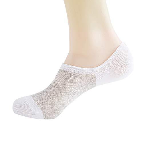 Quaan Baumwolle Frau Männer Socken Beiläufig Arbeit Schnitt Streifen Mode Gemütlich Geschäft Schnitt Gemütlich Stricken Schlank Atmungsaktiv antibakteriell absorbieren Schweiß ()