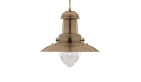 Plafoniere Ottone Stile Nautico : Searchlight electric ab lampada da soffitto stile nautico