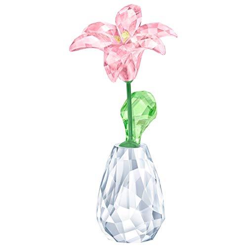 Swarovski lilie - cristalli ornamentali da fiori, 7 pezzi, multicolore