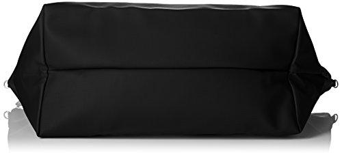 Lacoste NF1947PO, Borsa a Tracolla Donna, 36.5 x 22 x 42.5 cm Nero (Black)