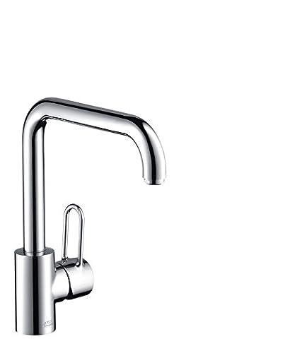 Axor Uno Einhebel-Küchenmischer, Komfort-Höhe 250mm mit Schwenkauslauf,