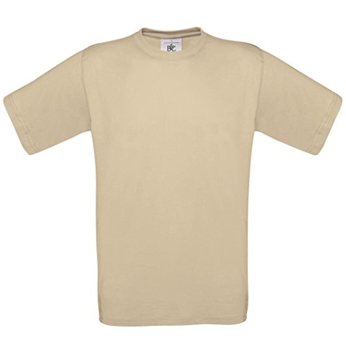 B & C Collection, Exact 190, BA190, T-Shirt Beige - Sand