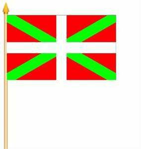 10-stockflaggen-Pays-Basque-30-45-cm-de-Yantec