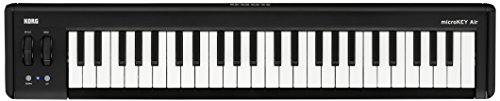 KORG microkey2-49 Air 49 Key Bluetooth Wireless und USB MIDI-Controller - Schwarz