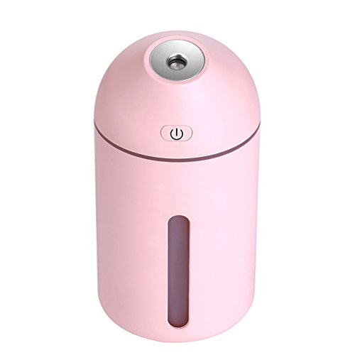 Shenhai Aire Mini Humidificador Portátil Hogar Dormitorio Mujeres Embarazadas Bebé Oficina Escritorio Humidificador, Rosa