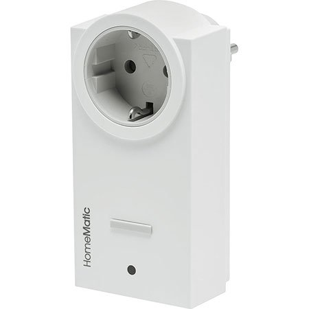 ELV Homematic ARR-Bausatz Zwischenstecker-Schaltsteckdose HM-LC-Sw1-Pl-DN-R1, für Smart Home/Hausautomation