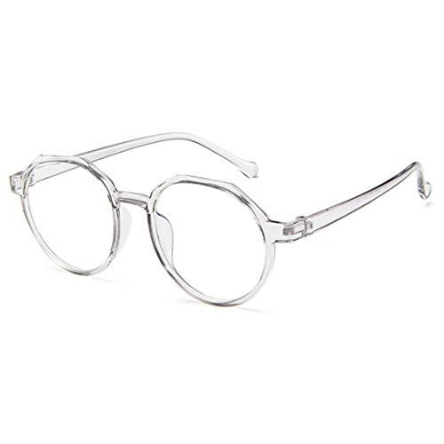 MUCHAO Retro transluzentes Unisex-Farb-PC-Frame-Design Optische Gläser