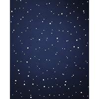 WANDfee Wandtattoo ☆ Leuchtsterne ★☆ 400 selbstklebende ★EXTRASTARK★ fluoreszierende Sterne Sternenhimmel Aufkleber Kinderzimmer Schlafzimmer