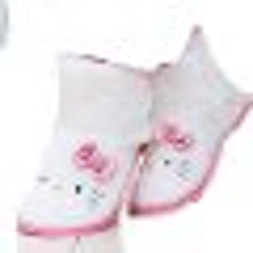 Hello Kitty, Pantofole bambine Bianco Bianco/Rosa